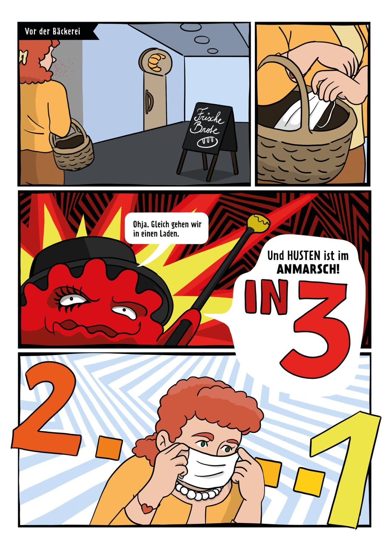 AHA Regeln Alltagsmaske